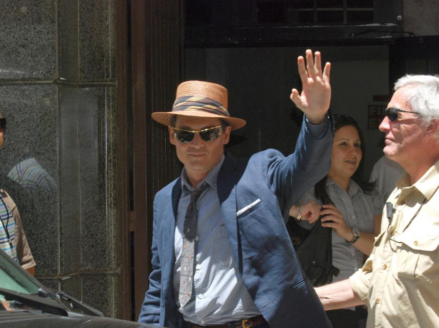 Johnny Depp w \
