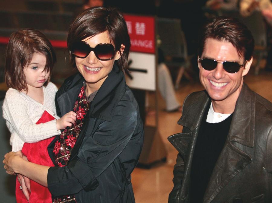 Katie Holmes, Tom Cruise i Suri