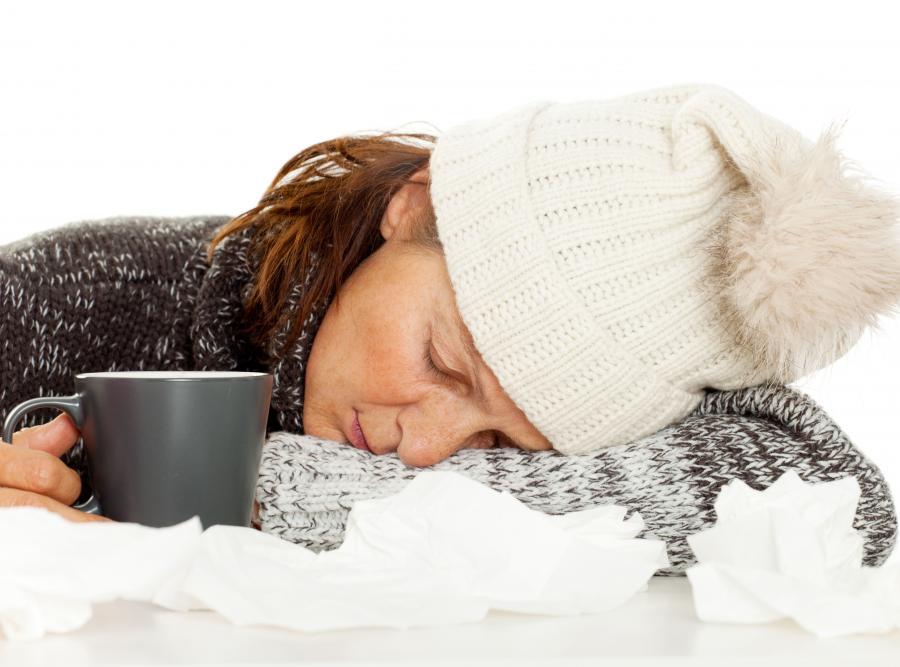W czasie grypy organizm domaga się snu 24 godziny na dobę