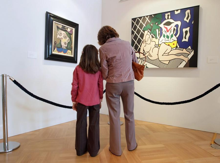 Obrazy należące do Elizabeth Taylor