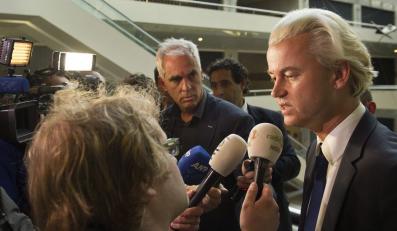 Budżet Holandii za wcześnie w internecie. Sprawę w rozmowie z dziennikarzami skomentował lider Partii Wolności Geert Wilders
