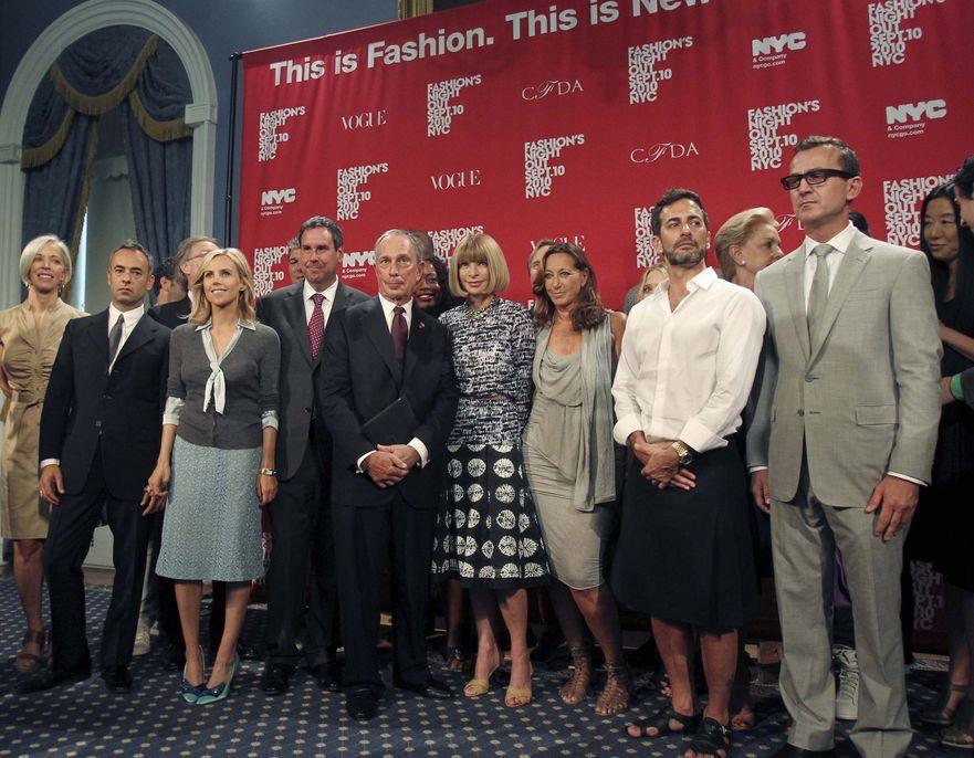 Plejada osobistości ze świata mody na Vogue Fashion Night Out w Nowym Jorku