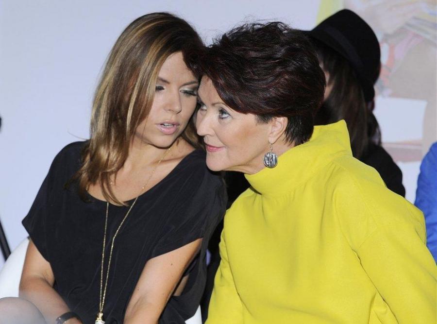 Ola Kwaśniewska z mamą Jolantą