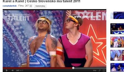 """Karel i Karel w czeskiej wersji """"Mam talent"""""""
