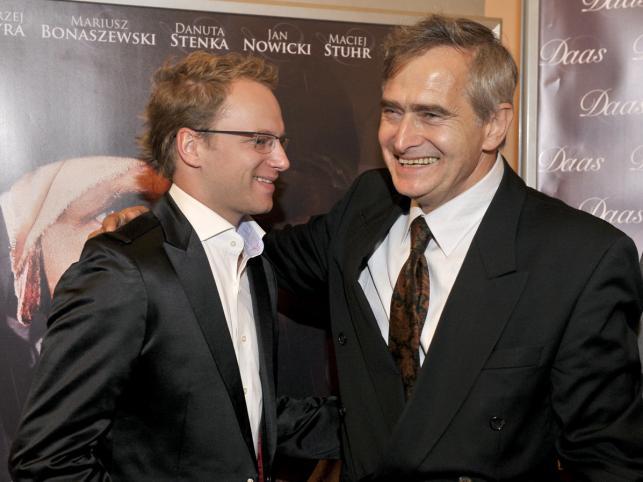 Olgierd Łukaszewicz i Maciej Stuhr