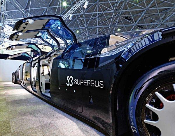 Superbus za milion euro będzie pędził po autostradach