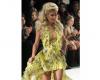 Paris Hilton w roli modelki na pokazie kolekcji Andre Tan