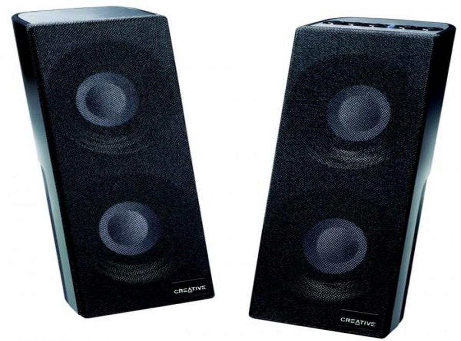 Laptopowe głośniki z wbudowaną kartą muzyczną