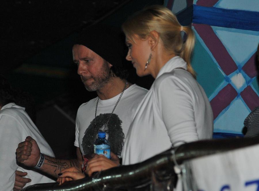 Radosław Majdan i Anna Samusionek