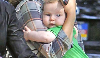 Natalie Portman z synkiem