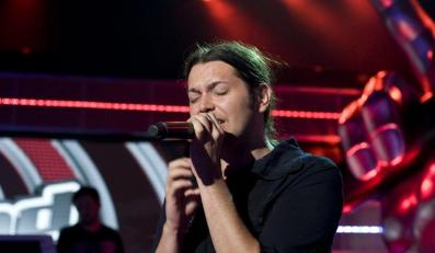 Gabriel Fleszar w The Voice of Poland
