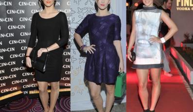 Anna Bosak na kilku imprezach z rzędu pojawiła się w postarzających stylizacjach.