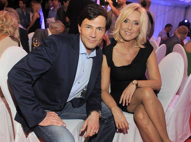 Krzysztof Ibisz i Agata Młynarska