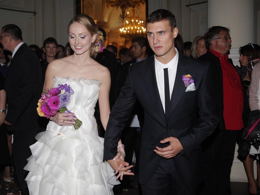Huczne wesele i dramatyczne, ciche rozstanie. Mateusz Damięcki był mężem Patrycji Krogulskiej zaledwie 8 miesięcy...