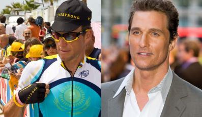 Matthew McConaughey i Lance Armstrong