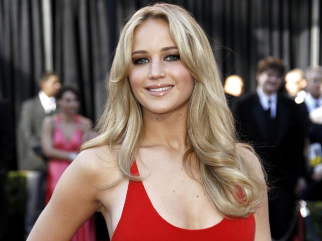 """Jennifer Lawrence (nominowana jest za rolę we wstrząsającym dramacie """"Do szpiku kości"""")"""