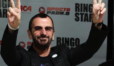 Ringo Starr z pomocą Dave'a Stewarta