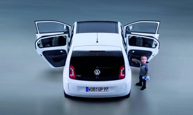 Volkswagen up! 5d - bardziej praktyczny maluch z Niemiec