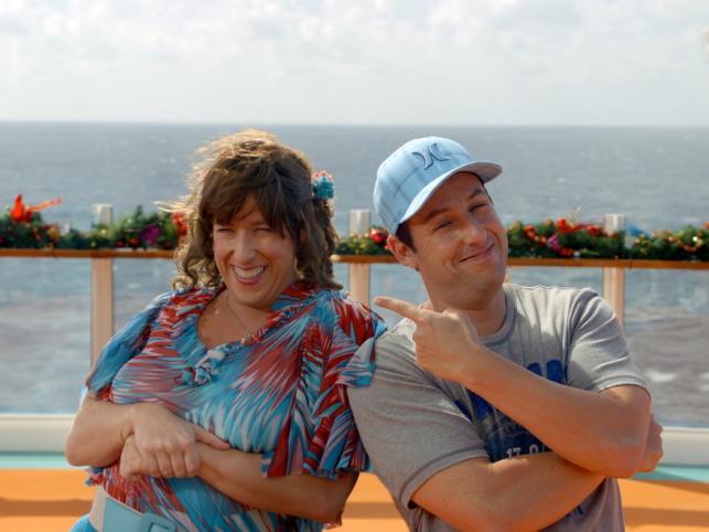 """Za komedię""""Jack i Jill"""" Adam Sandler uzyskał nominacje m. in. w kategorii najgorszego aktora, najgorszej aktorki (!), najgorszego scenariusza i najgorszego filmu"""