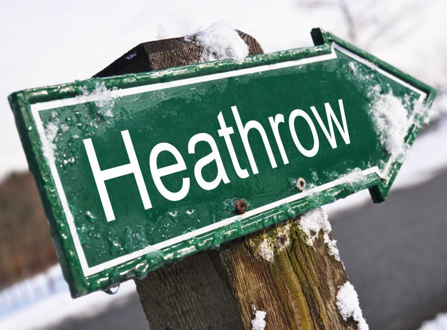 Lotnisko Heathrow sparaliżowane