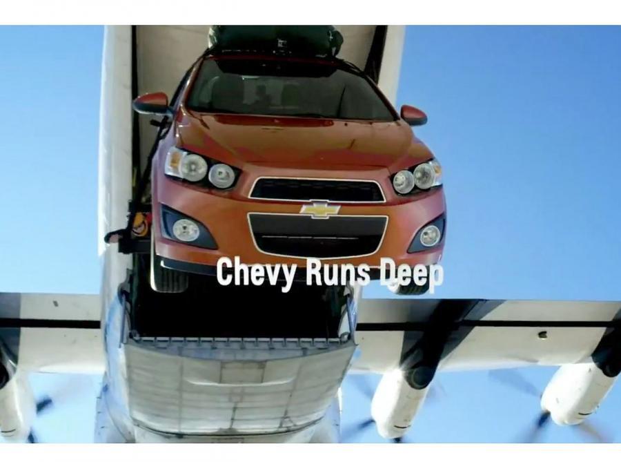 Kaskaderzy w Chevy Sonic