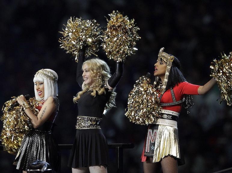 Nicki Minaj, Madonna i M.I.A. na Super Bowl