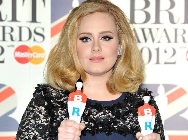 Adele znowu najlepsza na Wyspach Brytyjskich