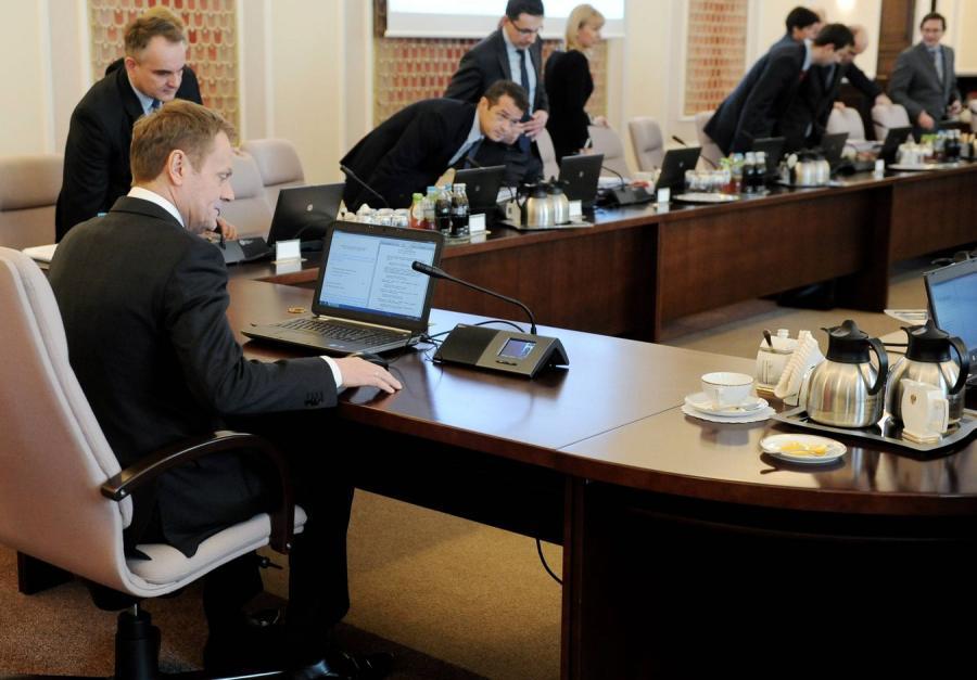 Posiedzenie rządu PO-PSL