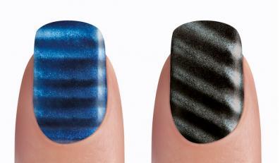 Nietypowy manicure - paznokcie w paski