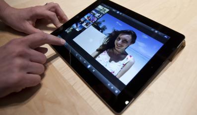 Prezentacja nowego tabletu iPad firmy Apple
