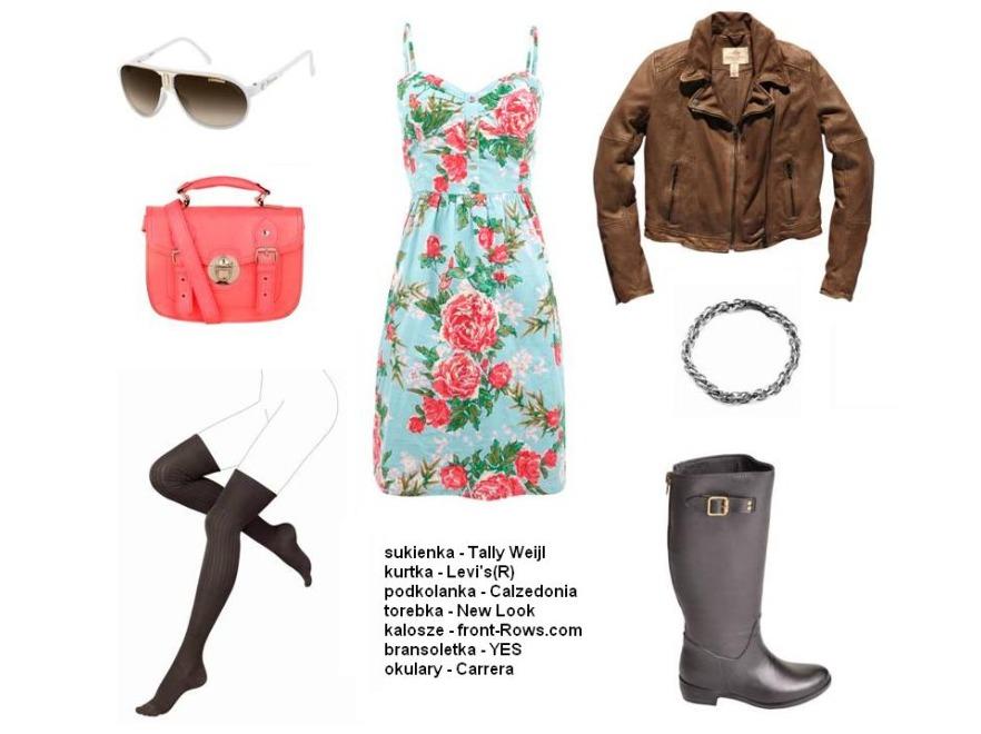Kobiece stylizacje na wiosnę 2012