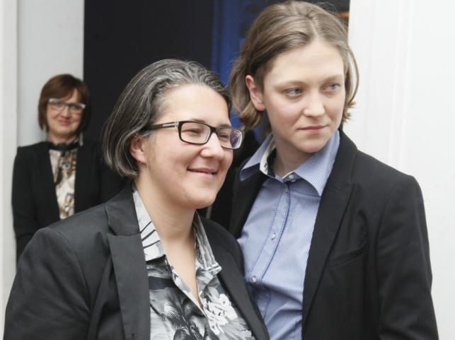 Katarzyna Adamik i Olga Chajdas