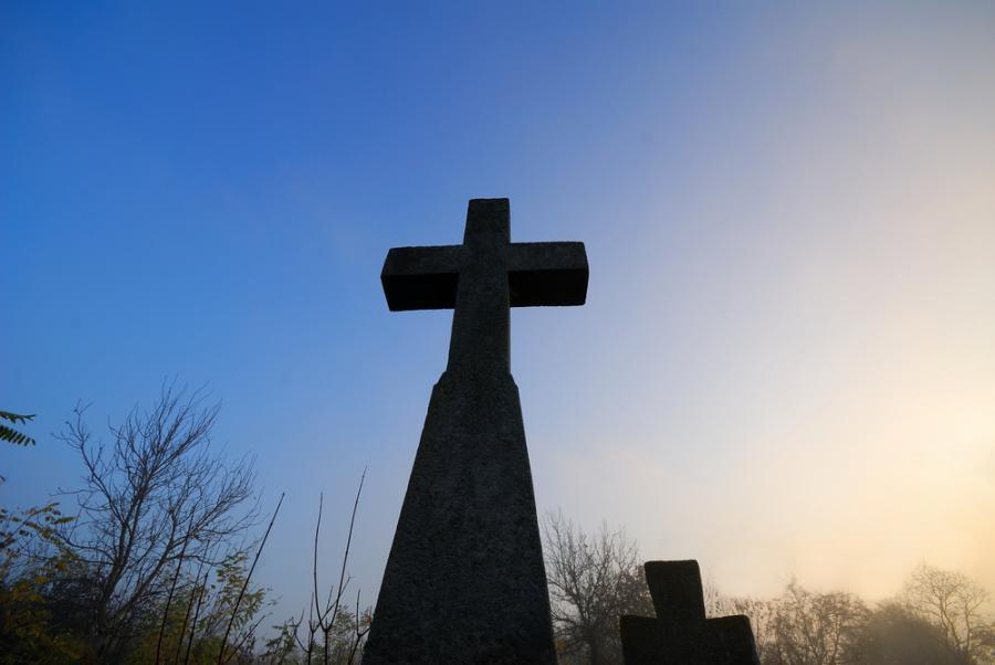 Nagrobek na cmentarzu