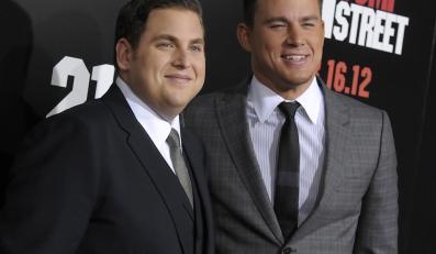 """Jonah Hill i Channing Tatum na premierze """"21 Jump Street"""""""