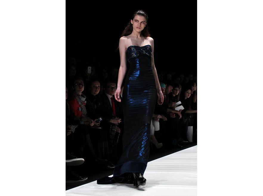 Suknie wieczorowe od Ewy Minge z kolekcji jesień-zima 2012/2013
