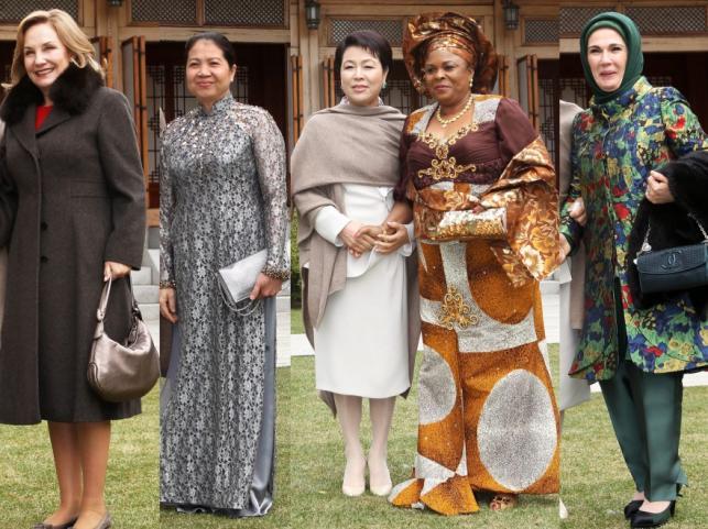 Pierwsze damy z różnych krajów