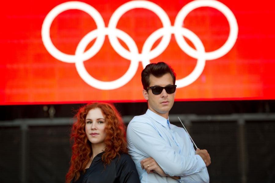 Mark Ronson i Katy B samplują olimpijczyków