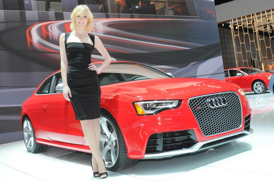 Salon samochodowy w Nowym Jorku