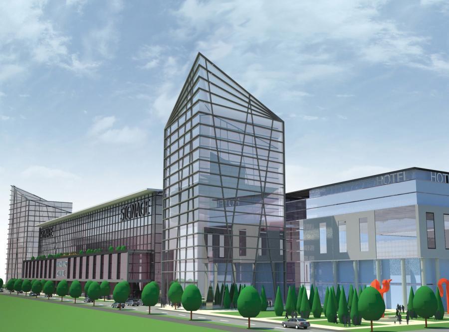 Centrum handlowe ma być gotowe w 2012 r.