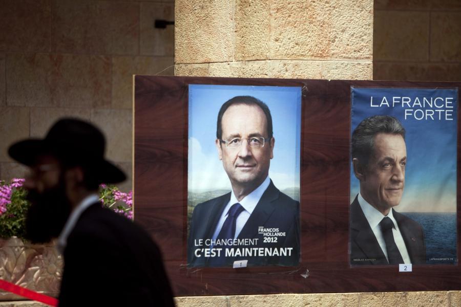 Plakaty wyborcze we Francji