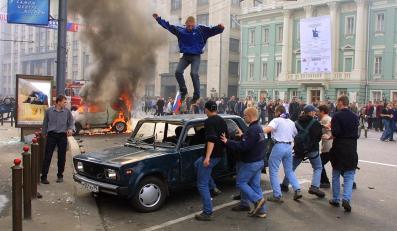Zadyma kibiców w Moskwie w 2002 roku