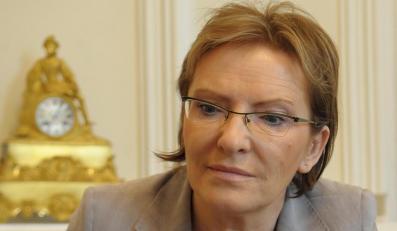 Ewa Kopacz odpowiada na pytania dotyczące slużby zdrowia