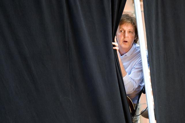 "Paul McCartney w ""The Late Show with David Letterman"" – Nowy Jork 2009"