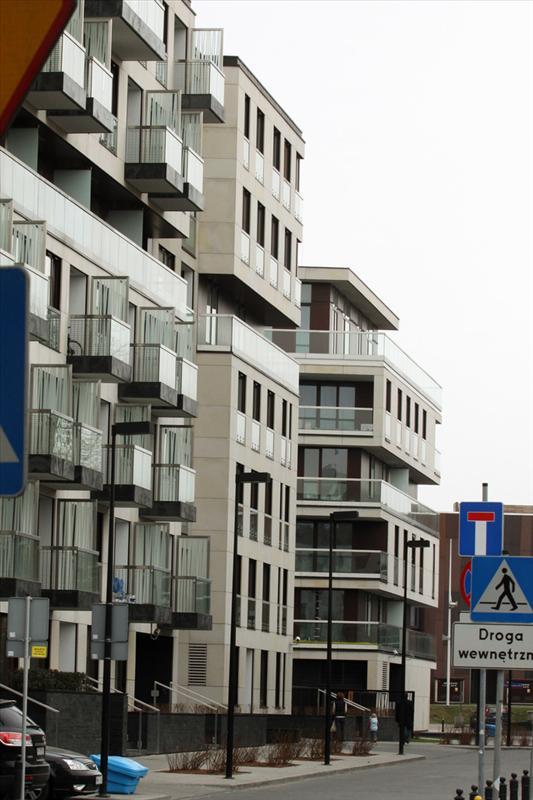 Apartamentowiec na warszawskim Powiślu