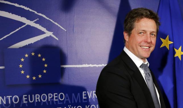Hugh Grant w Parlamencie Europejskim