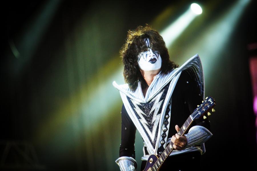 Kiss podczas koncertu w Oslo