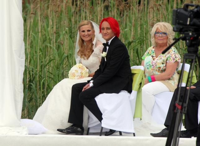 Ślub Michała Wiśniewskiego i Dominiki Tajner