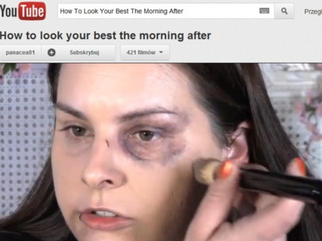 Lauren Luke w filmie How To Look Your Best The Morning After
