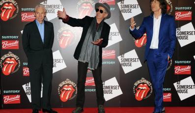 The Rolling Stones na otwarciu jubileuszowej wystawy