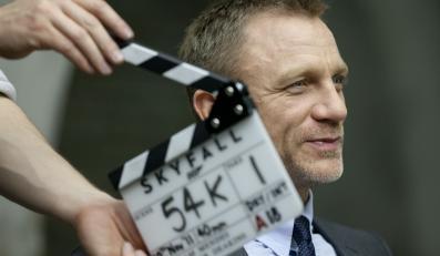 """Daniel Craig na planie """"Skyfall"""""""